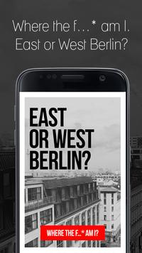 East or West Berlin? poster