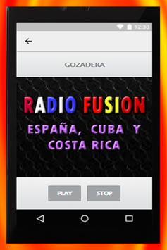 RADIO FUSION ESPAÑA, CUBA Y COSTA RICA screenshot 6