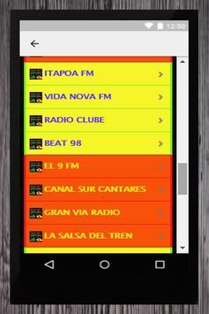 RADIO FUSION ESPAÑA Y BRASIL screenshot 4