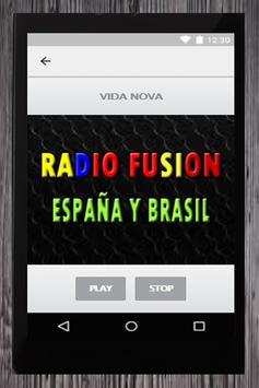 RADIO FUSION ESPAÑA Y BRASIL screenshot 5