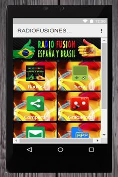 RADIO FUSION ESPAÑA Y BRASIL screenshot 2
