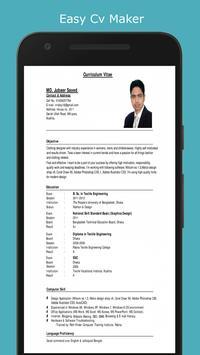 easy cv maker 2018 for android apk download