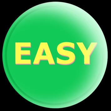 Easy Button poster