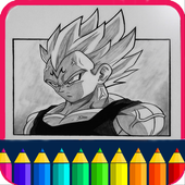 Learn To Draw dbz Characters icon