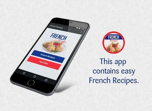 French Recipes screenshot 1