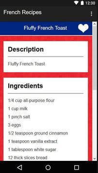 French Recipes screenshot 7