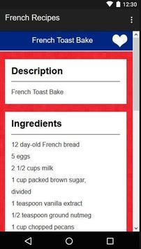 French Recipes screenshot 6