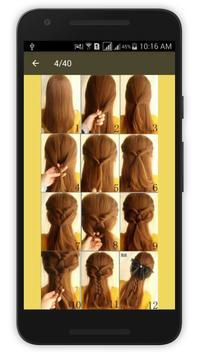 Easy Hair Style Woman 2016 apk screenshot
