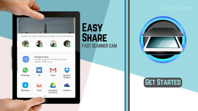 The Fast Scanner : Scan Doc to PDF - My Scans apk screenshot
