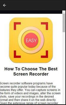 Easy Screen Recorder apk screenshot