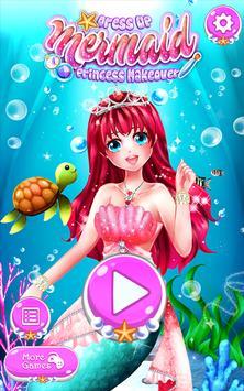 Dress Up Mermaid Princess Makeover poster