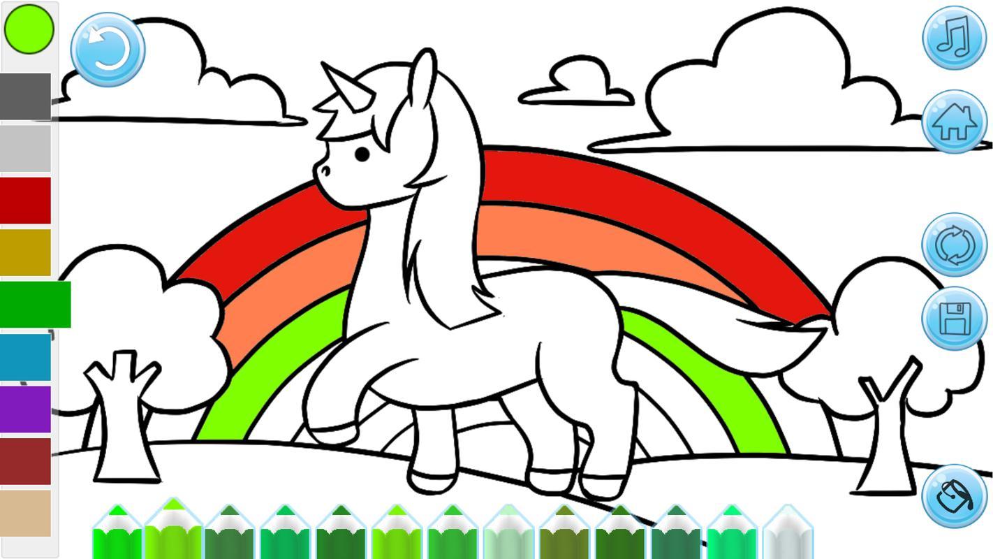 Anak Anak Mewarnai Buku Cat Menggambar Mewarnai For Android Apk