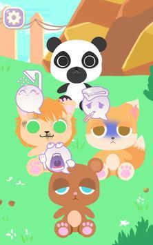 kleiner Zoo Tagespflege keeper Plakat