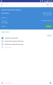 Easytask: İş, Süreç & Proje screenshot 7