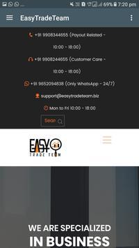 Easy Trade Team screenshot 7