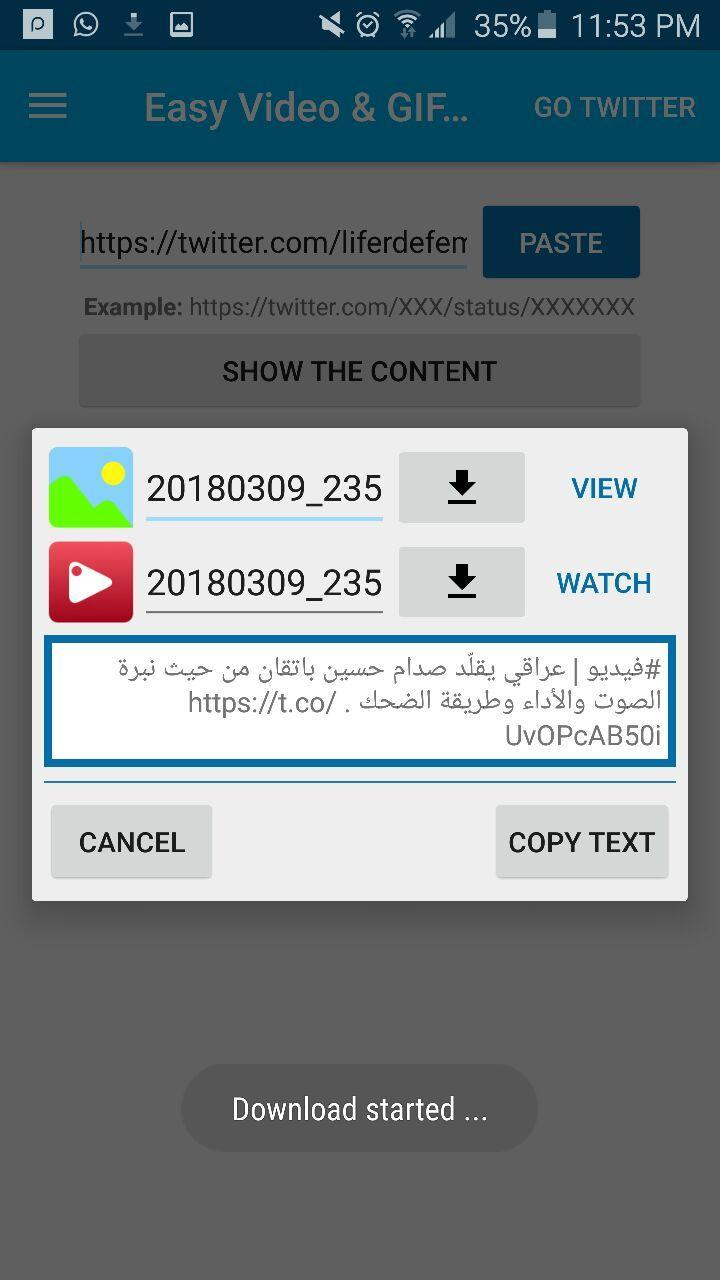 Save videos from twitter for Android - APK Download