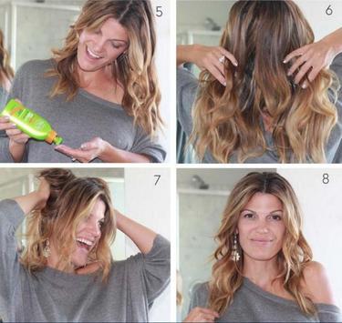 Easy Wavy Hairstyle Tutorials screenshot 4