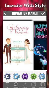 Invitation Maker poster