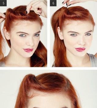 Easy Women Hairstyle Tutorial screenshot 1