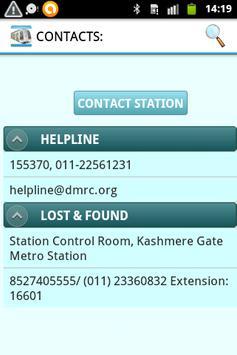easyMETRO(DELHI) apk screenshot