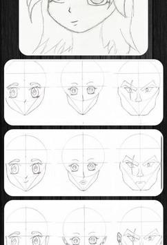 easy anime drawings apk screenshot