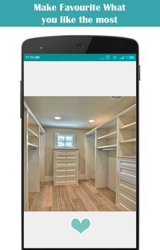 Closet Design Ideas screenshot 1