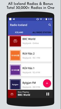 All Iceland Radios poster