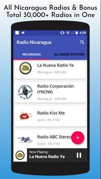 All Nicaragua Radios poster