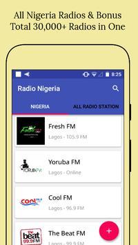All Nigeria Radios poster