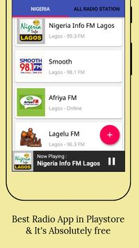 All Nigeria Radios screenshot 1