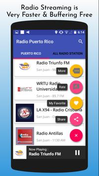 All Puerto Rico Radios apk screenshot