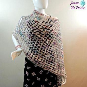 easy crochet poncho patterns screenshot 1