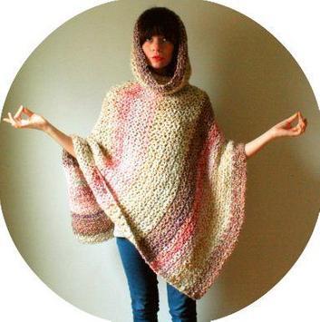 easy crochet poncho patterns screenshot 3