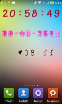 Decor Digital Clock screenshot 1