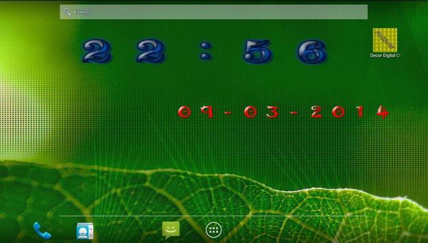 Decor Digital Clock screenshot 5
