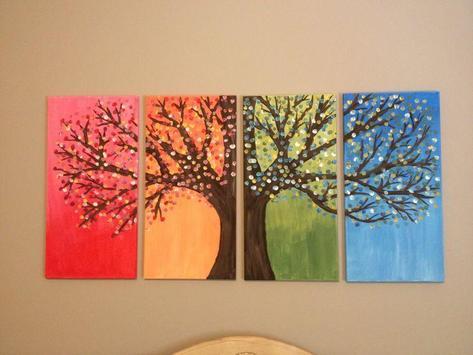 Easy DIY Canvas Painting Ideas Screenshot 5