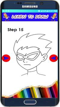 How to Draw Teen Titans The easy Way poster