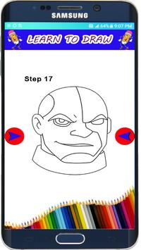 How to Draw Teen Titans The easy Way apk screenshot