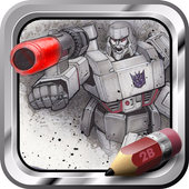 Easy Drawing Transformers icon