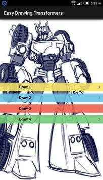 Easy Drawing Transformers poster