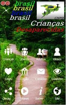 Brasil Crianças Desaparecidas Cartaz