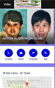Brasil Crianças Desaparecidas imagem de tela 2
