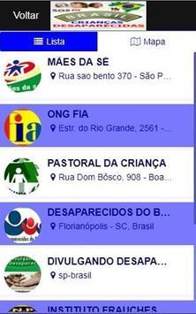 Brasil Crianças Desaparecidas imagem de tela 5