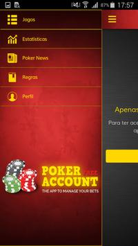 Poker Account Free apk screenshot