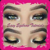 Easy Eyebrow Tutorials icon