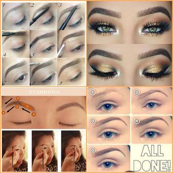 Easy Eyebrow Tutorials screenshot 1