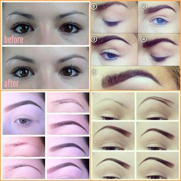 Easy Eyebrow Tutorials screenshot 9