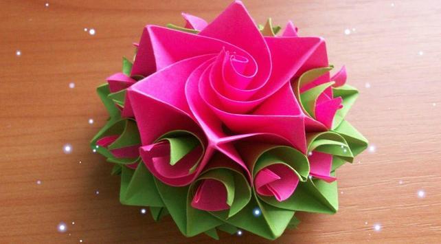 Easy Flower Craft Idea poster
