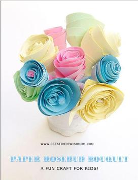 Easy Flower Craft Idea apk screenshot