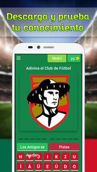Logo Quiz del Futbol Mexicano screenshot 1